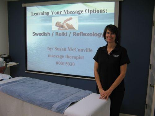 Susan's massage class pic