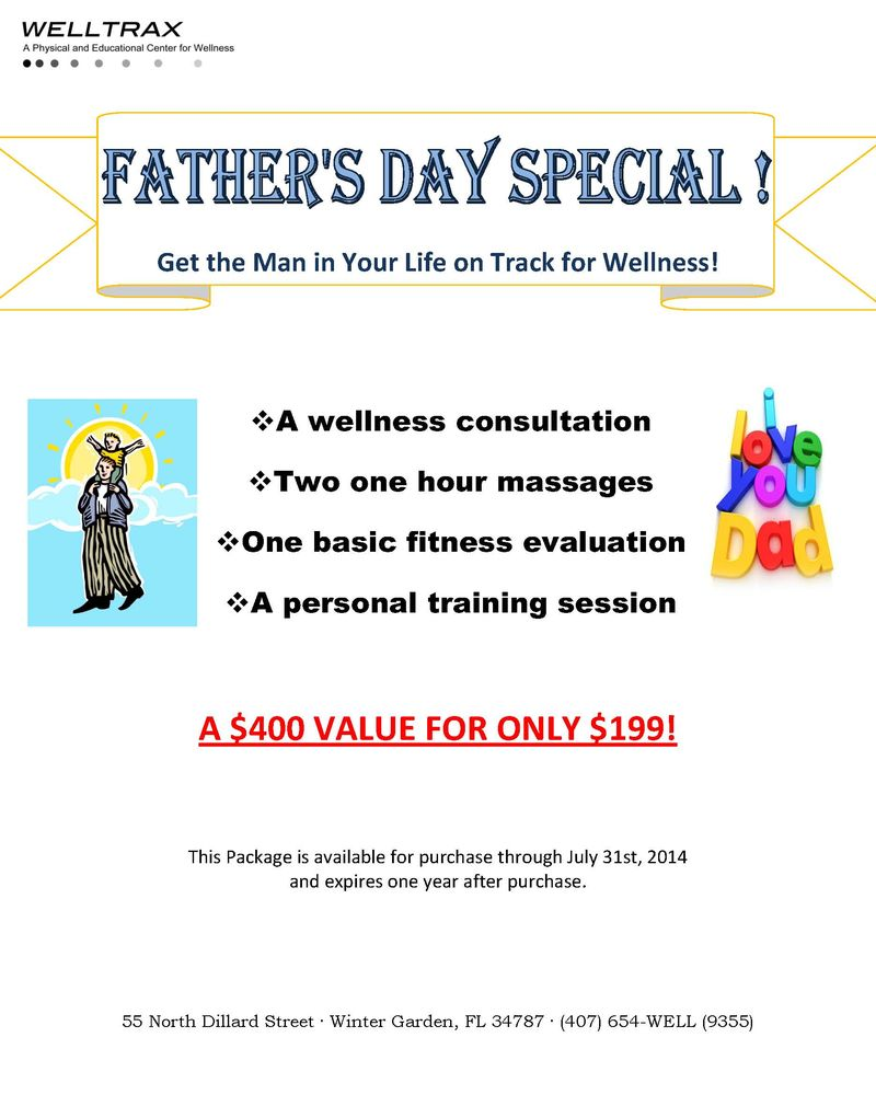 Father Day flyer 2014