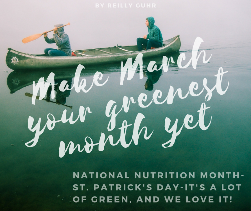 Make March your greenest month yet