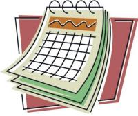 Shauns calendar